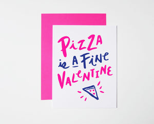 Pizza Valentine Card