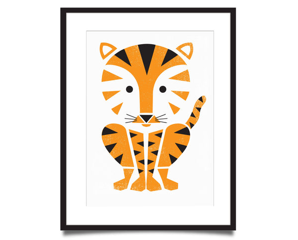 Tiger Screenprint