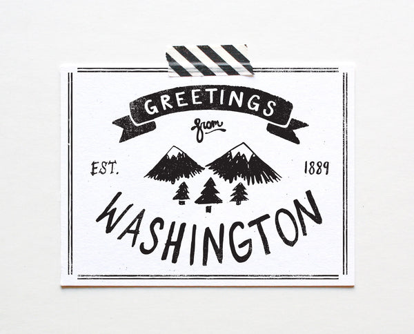 State of Washington Postcard