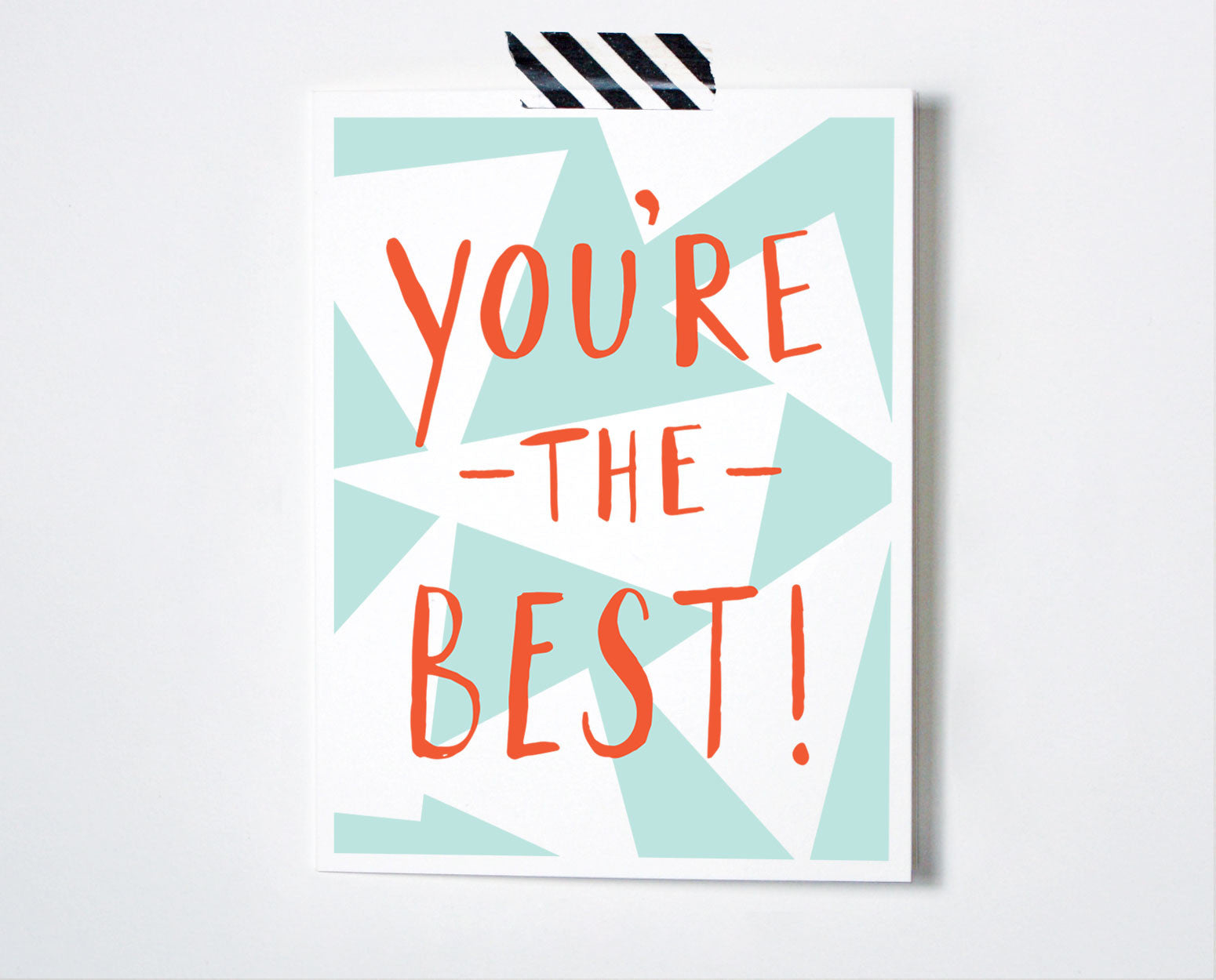 You're The Best Card - The Paper Cub Co.