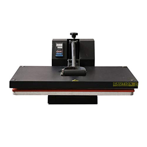 "JD9 16"" x 24"" Industrial-Quality Digital Sublimation Heat Transfer Machine T-Shirt Heat Press Machine, 40 x 60 cm, Black"