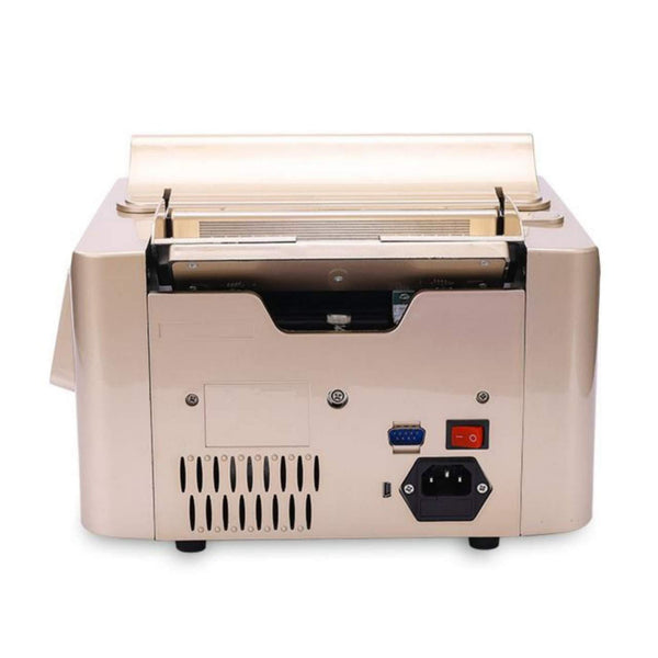 JD9 Business Grade Mix Note Value Counting Machine/Currency Counting with Fake Note Detection, High Speed & High Capacity, with LED Display and Large LCD Screen, Suitable for All Old & New Notes.