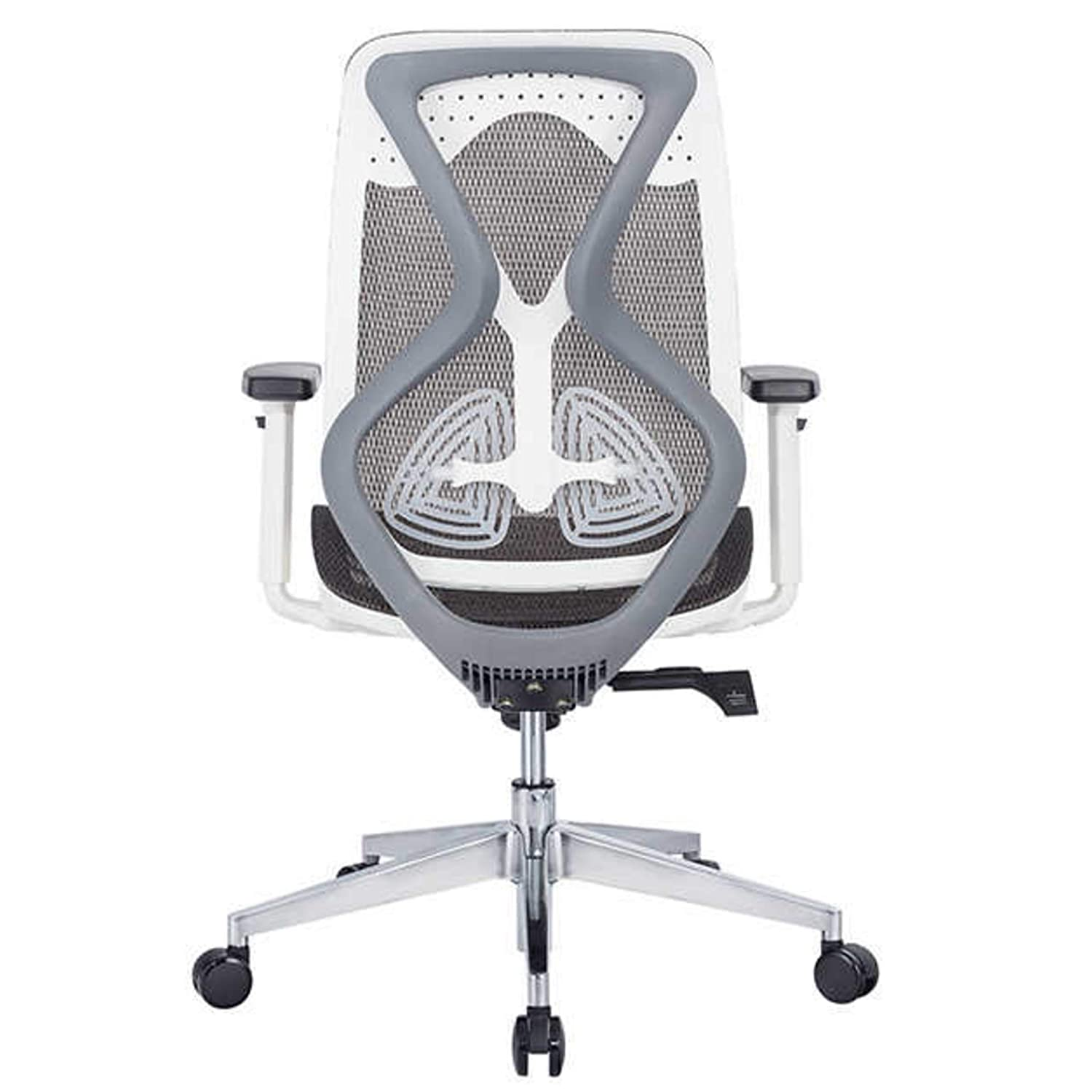 JD9 Medium Back Ergonomic Chair with Advanced Syncro Tilt Mechanism with Multi Position Lock for Office & Home
