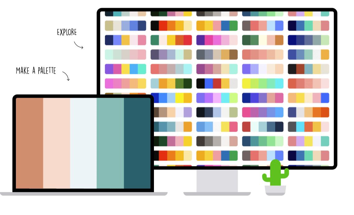 Coolors, the color generator tool