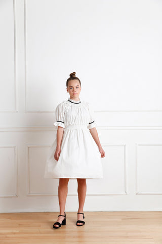 Ellie dress (white)