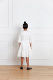 Lila dress (white)