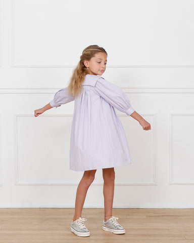 Mia dress (lavender)