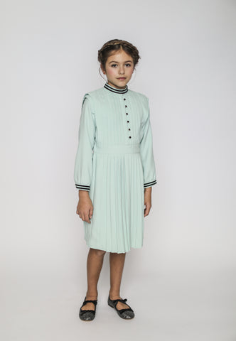 Vivienne dress (chiffon mint)