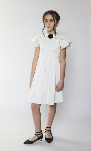 Rosalind dress (ivory)