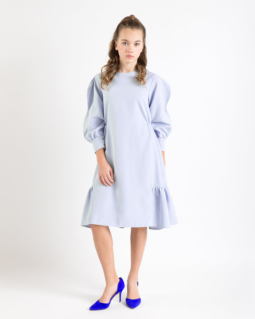 Ivy dress (light blue)