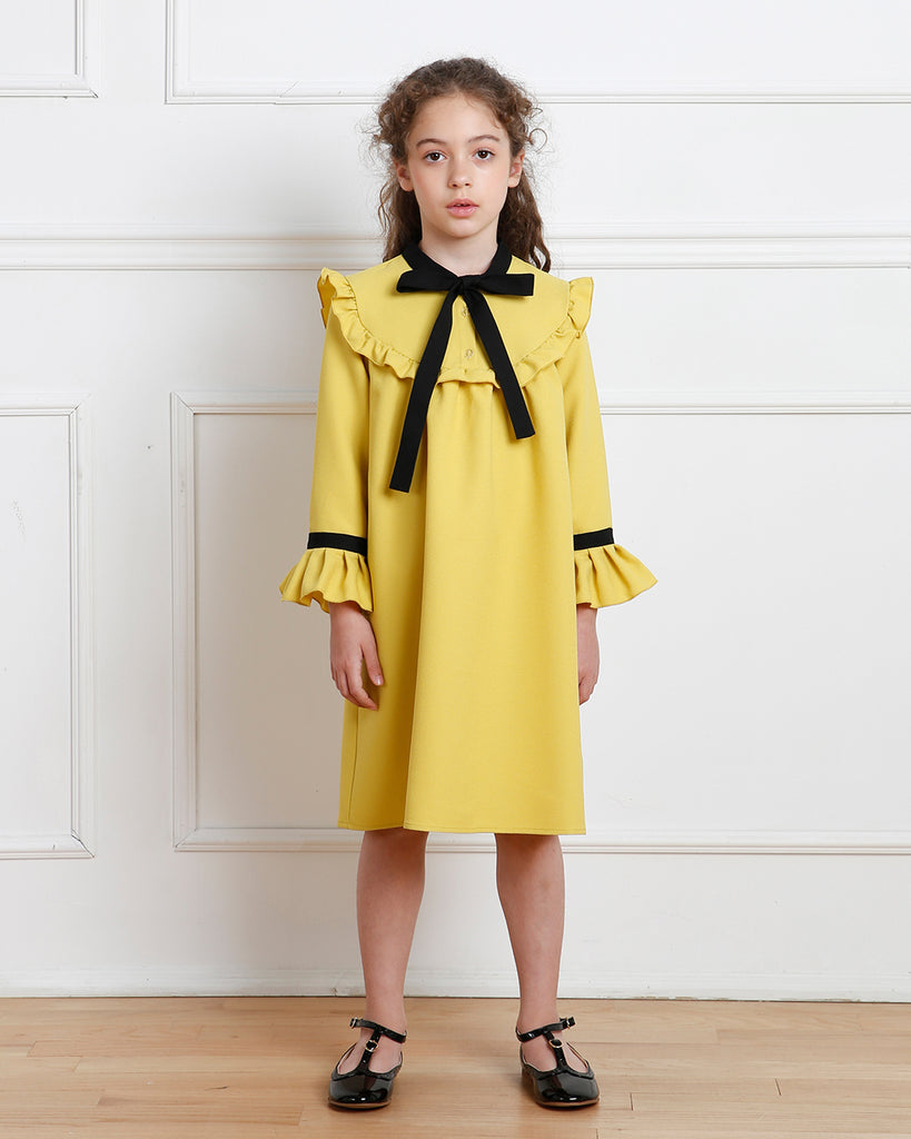 Emma dress (dandelion yellow)