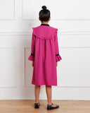 Emma dress (fuschia pink)