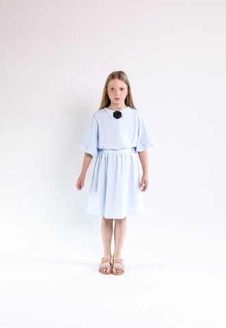 Luna dress (light blue)