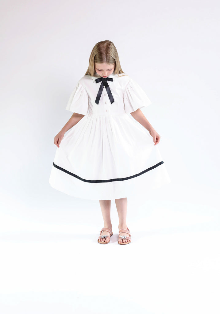 Lea dress (white)