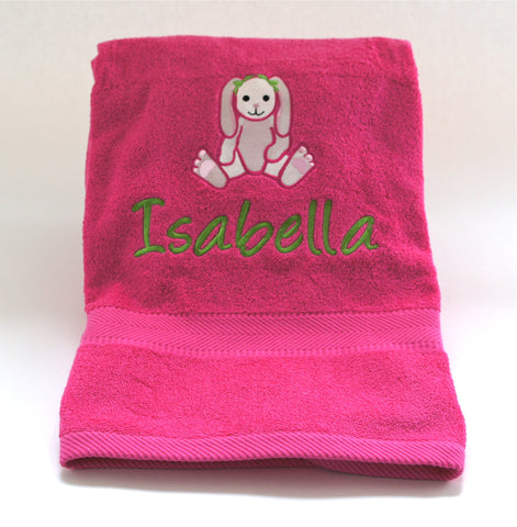 Baby Towel with a Bunny