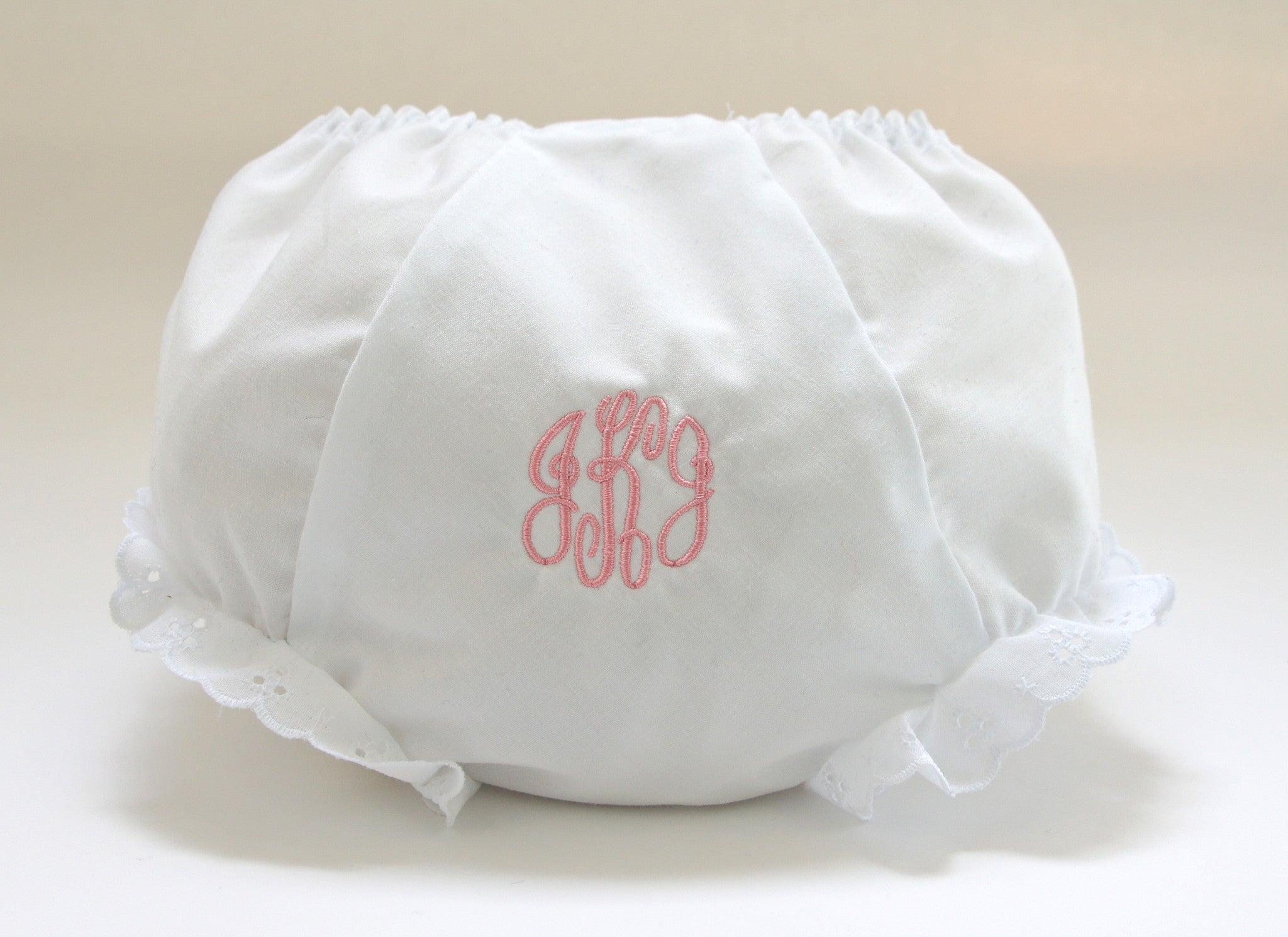 Diaper Cover with Initials