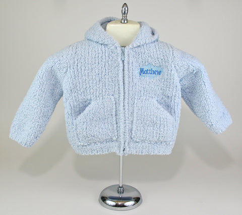 Chenille Hoody for Babies and Toddlers