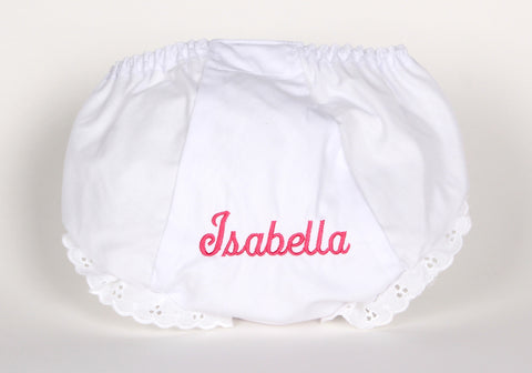 Diaper Cover with a Name