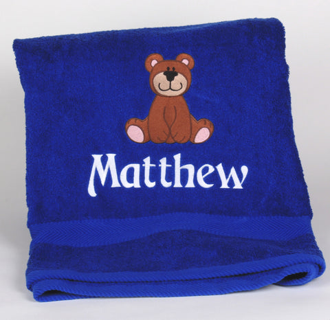 Baby Towel with a Bear