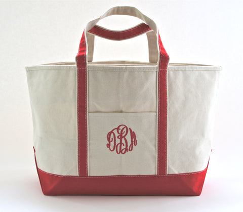 Tote Bag with Initials