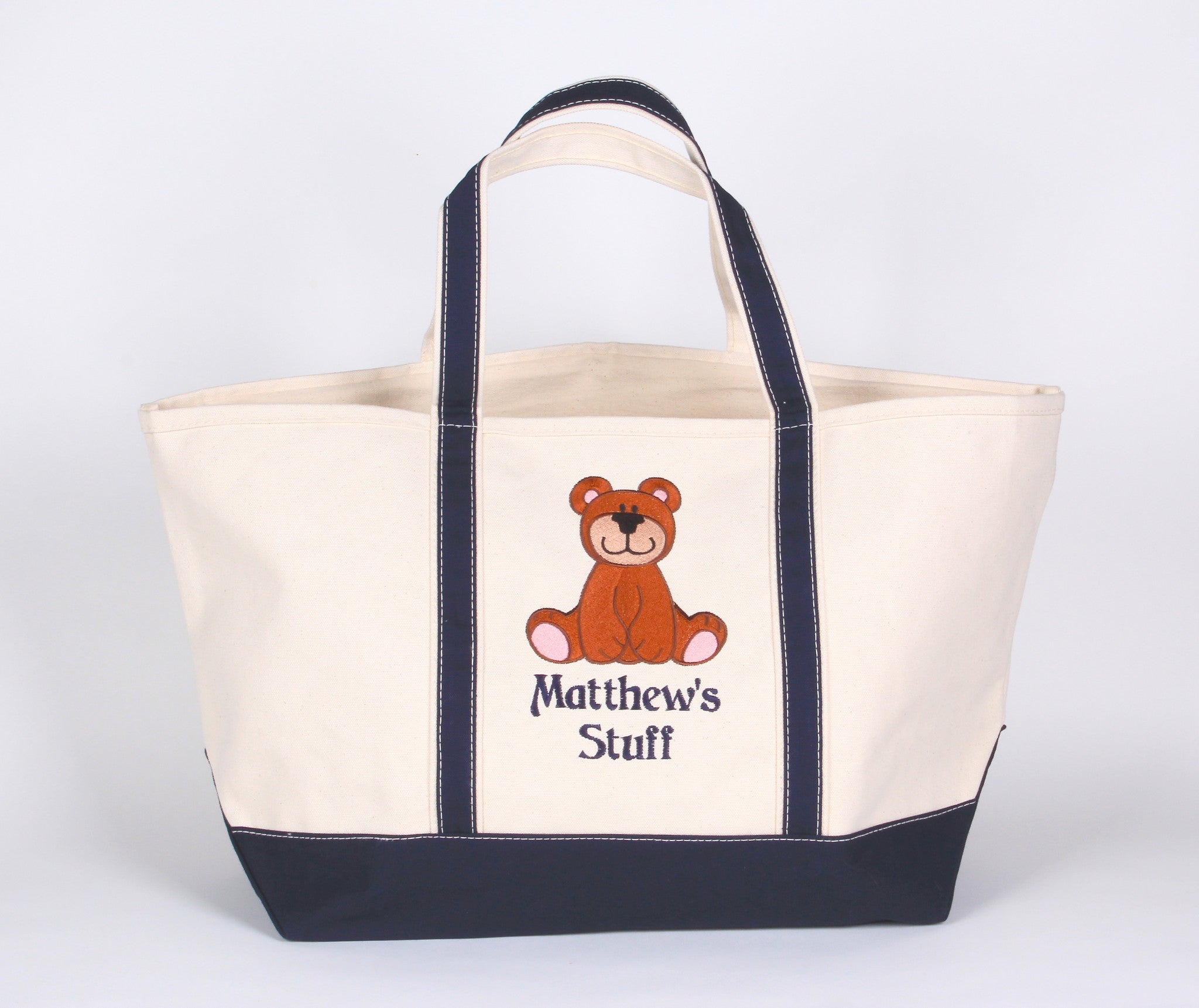 Tote Bag with a Bear