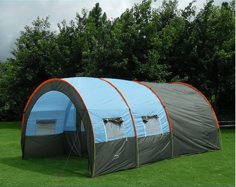 LARGE CAMPING TENT WITH ROOMS