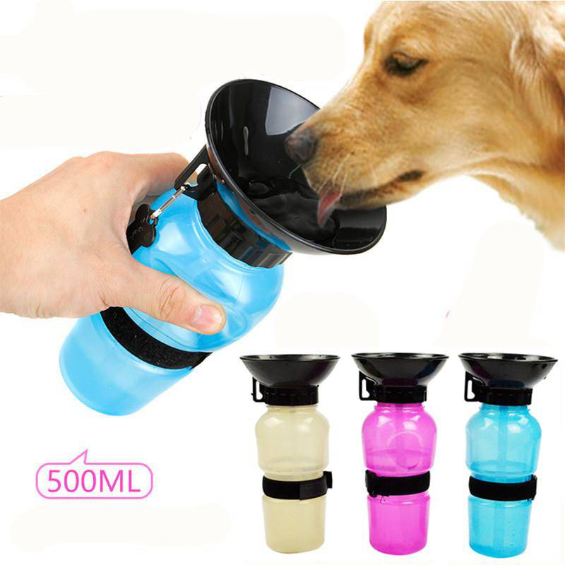 Dogs Water Bottle