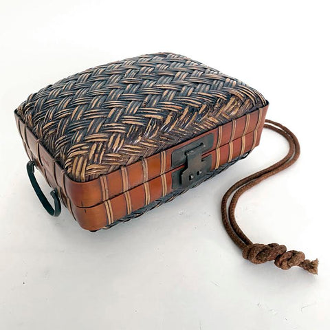 Bamboo Obento-Bako (Lunch Box), Japanese, Meiji period