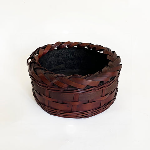 Basket, Charcoal, Tea Ceremony, Japanese, Taisho period