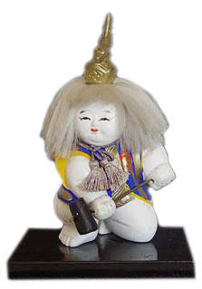 Antique Japanese Gosho-Ningyo Doll