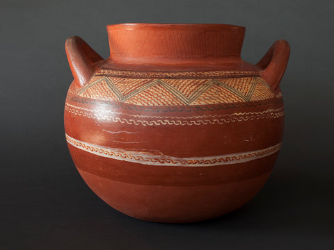 R036 Pot With Handles