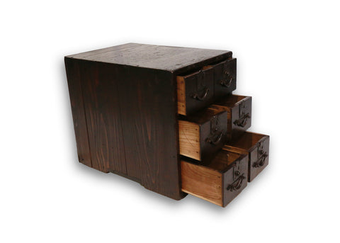 Six-drawer Box (ko-bako), Japanese