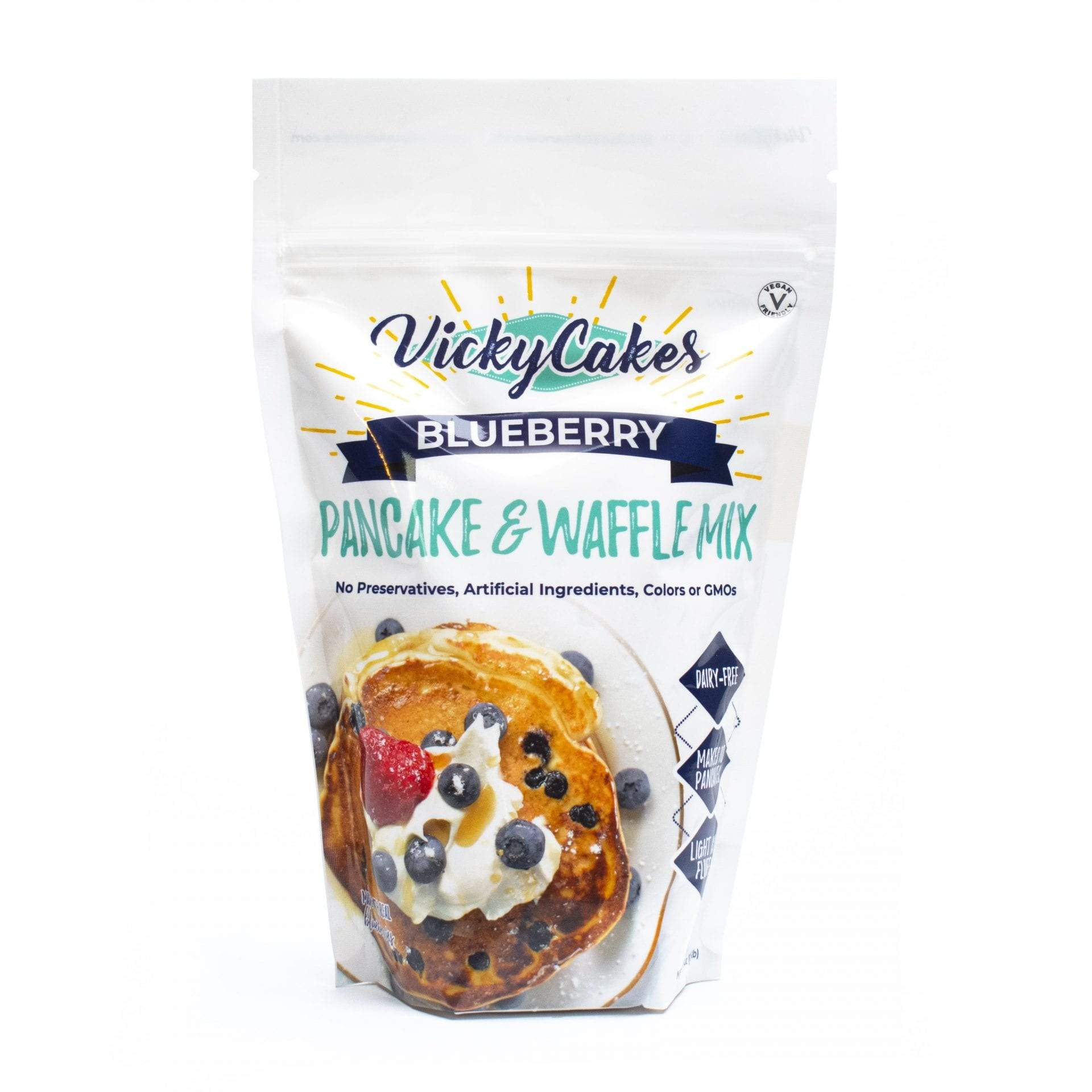 Blueberry Pancake and Waffle Mix