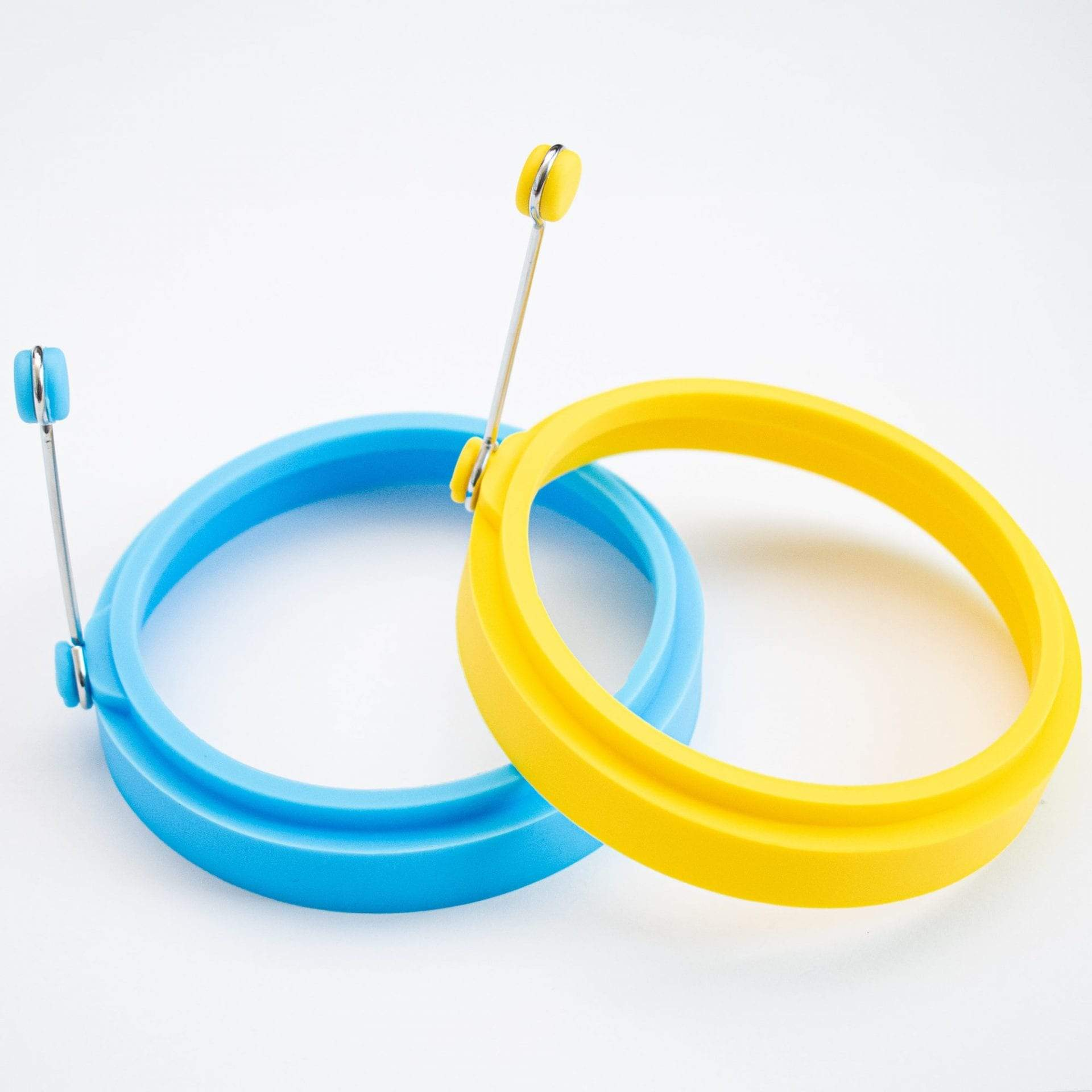 Colorful Silicone Pancake Rings - Pack of 2