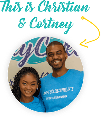 founders Cortney and Christian