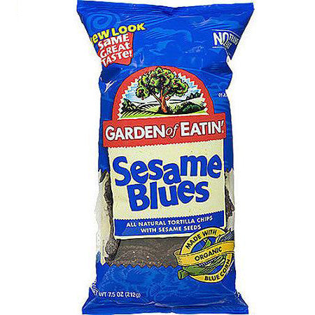 Blue Corn Tortilla Chips - Sesame