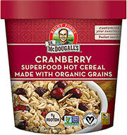Hot Cereal Cup - Cranberry Almond