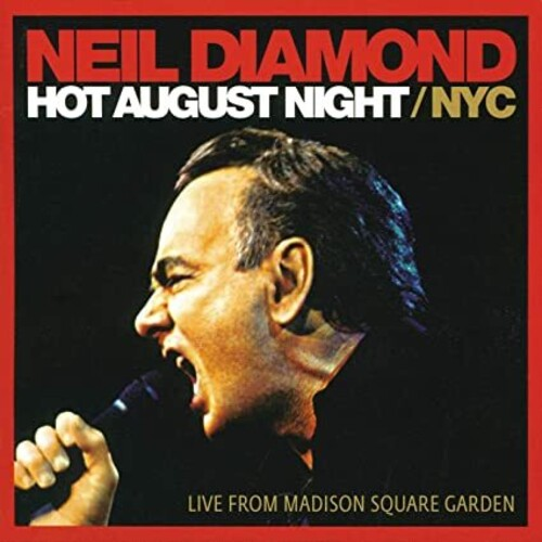 Neil Diamond - Hot August Night Live From Madison Square Garden - LP