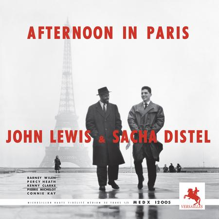 John Lewis & Sacha Distel - Afternoon In Paris - Sam LP