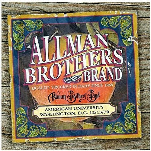 The Allman Brothers Band - The Allman Brothers Band - LP
