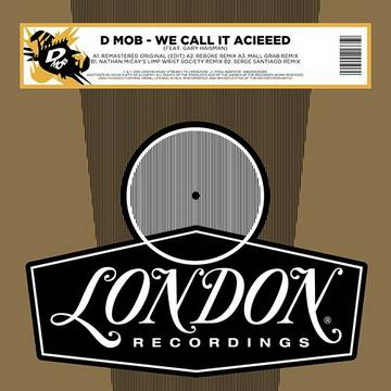 D-Mob - We Call It Acieeed - RSD 12
