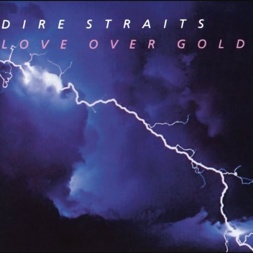 Dire Straits -  Love Over Gold - Import LP