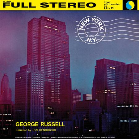 George Russell - New York, N.Y. - Analog Productions LP