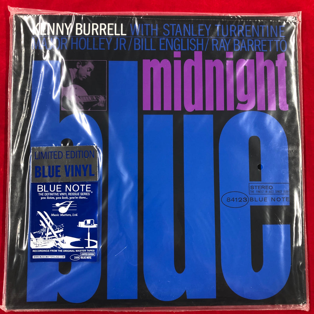 Kenny Burrell - Midnight Blue - Music Matters Blue Vinyl LP