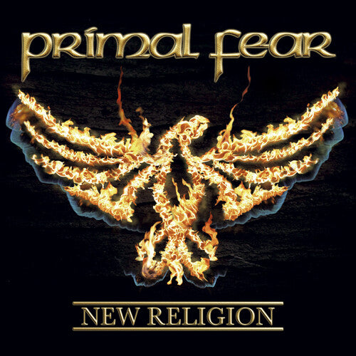 Primal Fear -  New Religion - Orange/ Red Marble LP