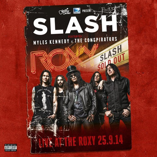 Slash - Live At The Roxy - LP