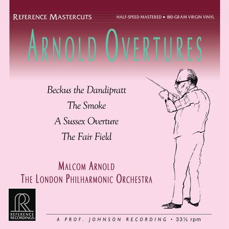 Malcolm Arnold, London Philharmonic Orchestra - Arnold Overtures - Reference Recordings LP