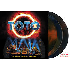 Toto - 40 Tours Around The Sun - LP