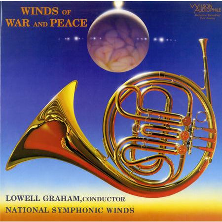 Lowell Graham - Winds Of War and Peace - Wilson 45rpm LP