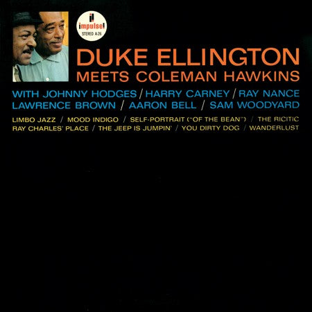 Duke Ellington and Coleman Hawkins - Duke Ellington Meets Coleman Hawkins - Analog Productions LP